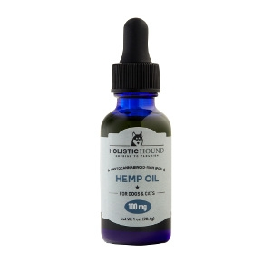 Holistic Hound Hemp Oil 100 mg