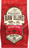 Stella & Chewy's Small Breed Raw Blend Red Meat Dog Food 3.5lb.