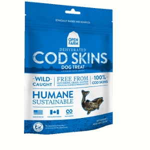 Open Farm Dehydrated Cod Skins 2.25oz