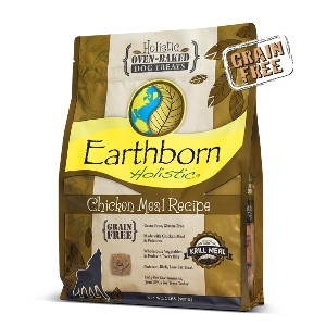 Earthborn Holistic® Oven-Baked Chicken Meal Recipe Biscuits 14 oz.
