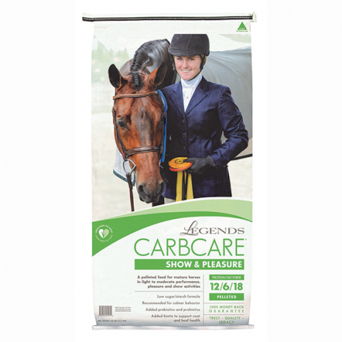 Legends CarbCare Show & Pleasure Horse Feed 50 lb.