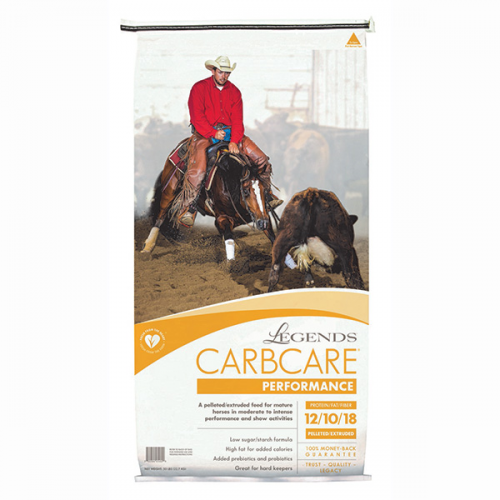 Legends CarbCare Performance Horse Feed 50 lb.