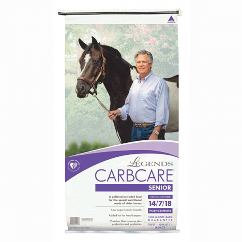 Legends CarbCare Senior Horse Feed 50 lb.