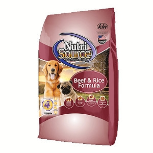NutriSource Dry Dog Food: $5 Off Any Size Bag