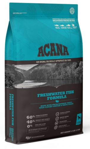 Acana Freshwater Fish Dog Food 25 lb. bag