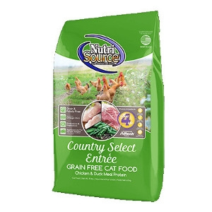 NutriSource Country Select Entrée Grain Free Cat Food 6.6 lbs.