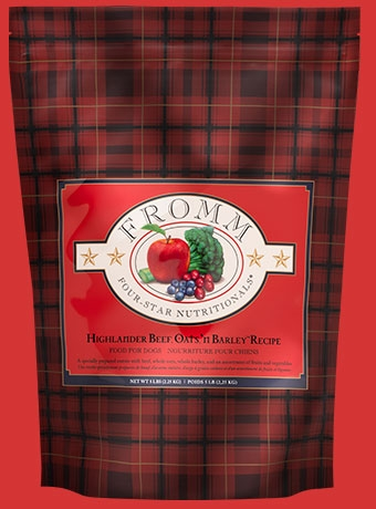 Fromm Four Star Highlander Beef, Oats, 'n Barley Recipe
